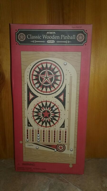 Classic Wooden Pinball by Schylling