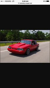 Wanted : FOXBODY COUPE