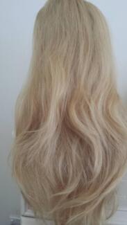 100% human hair wig, long