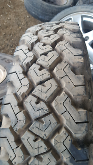 Tyres 7.50/16. On land criuser rims 5