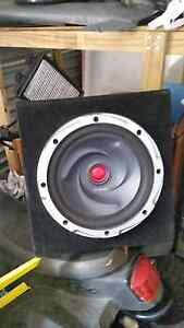 """12"""", 15"""" Subwoofers and boxes. Durack Brisbane South West Preview"""