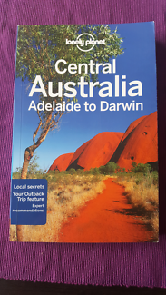 LONELY PLANET CENTRAL AUSTRALIA BOOK