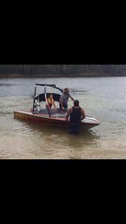 Lewis Fireball Ski Boat