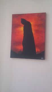 Batman Marvel Painting  Westmead Parramatta Area Preview