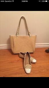 Brand New Authentic Tory Burch bag and shoe size 10.5 Cambridge Kitchener Area image 1