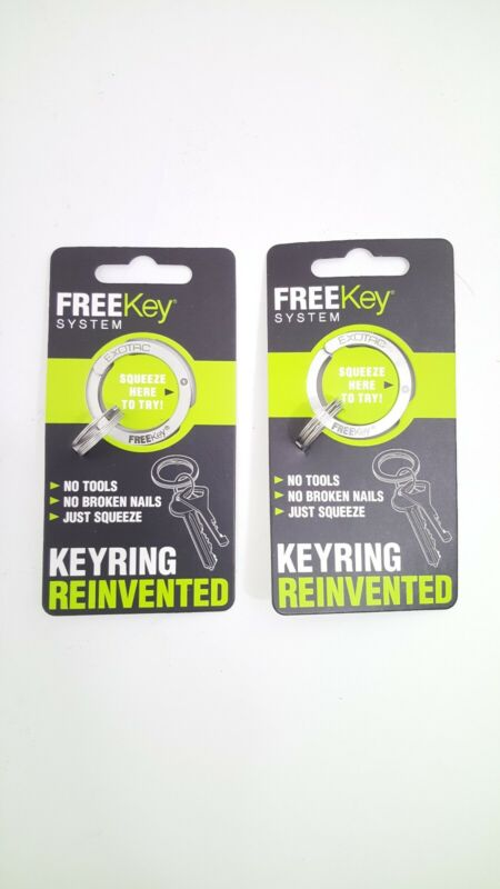 (2)Stainless Steel FreeKey System Made in the USA