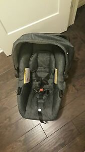 Evenflo infant car seat with winter cover