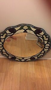 Beautiful Glass Framed Mirror