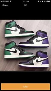 BUYING ALL PINE GREEN AND COURT PURPLE