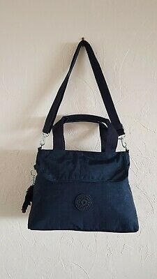 Kipling Navy Blue Messenger/Shoulder/Grab Handbag/Bag