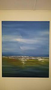 Nick Scali Beach View Canvas Oil Painting Mount Ommaney Brisbane South West Preview