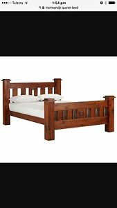 Queen bed and mattress West Leederville Cambridge Area Preview