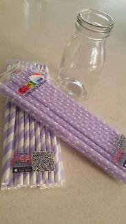 Party glasses & straws Port Kennedy Rockingham Area Preview