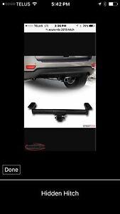 Hidden hitch for 2015 Acura RDX