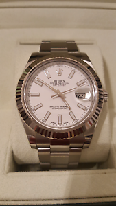 Rolex Datejust II- White Gold Fluted Bezel South Yarra Stonnington Area Preview
