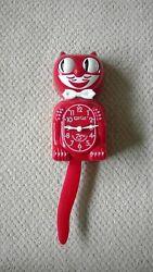 Classic Red Kit Cat Klock 75th Anniversary Model B2 Pendulum Wall Clock