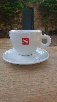 Illy Cappuccino Coffee Cup & Saucer