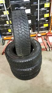 4-LT225/75/16 Goodyear 10 ply tires!!!!