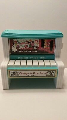 Fisher Price Classic Change A Tune Piano 2010 Toy 3 Tunes