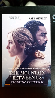 2 x The Mountain Between Us Tickets