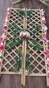 Decorative Rose Trellis Screen for Events Hire Green Valley Liverpool Area Preview
