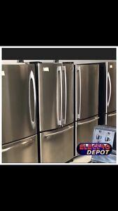 Réfrigérateur,laveuse,cuisinière,sécheuse usagée à Vendre