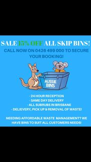 Hire a Skip Bin with Aussie Bins!