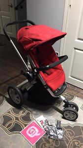 Quinny Buzz stroller in Rebel Red - Great condition