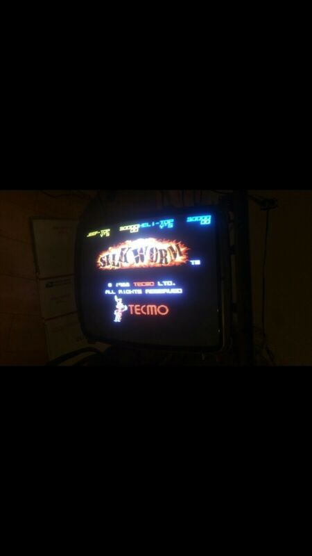 SILKWORM PCB  - 1988 Tecmo -