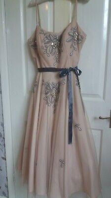 Jenny Packham No.1 1950's sequin detail dress (size 12)