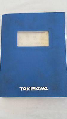 Takisawa Electric Diagram For Tm-15 Cnc Lathe With Bar Feeder