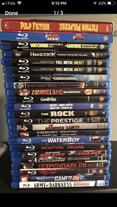 Bluray Collection $50 Blu-ray BR DVD Action Comedy Suspense