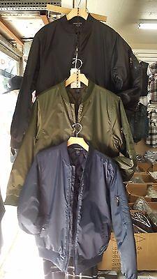 Flight Piolet Casual Airman long sleeve jacket coat Blue Fashion Jacket M-3XL