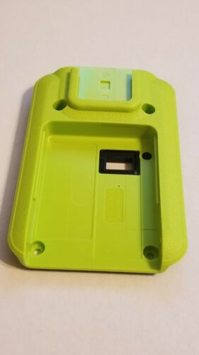 RHN1009B - Motorola MINITOR VI Cover Kit, LIME GREEN BACK Housing - Brand New!