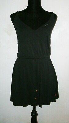 O'NEILL California Surf Beachwear Black Mini Dress Size Small Adjustable Straps