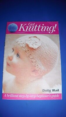 Get KNitting Daily Mail Beginners Guide Knitting Pattern Book for sale  Hawick