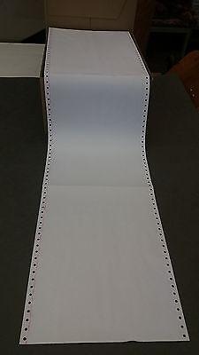 """1000 Blatt, Endlospapier A4 12""""x240 mm, 2-fach, SD, Computerpapier"""