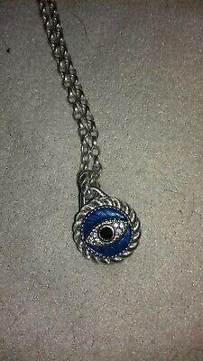 Judith Ripka Evil Eye Pendant Necklace