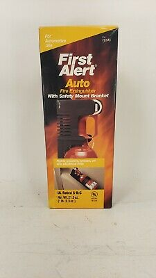 First Alert Auto Fire Extinguisher 5-bc Red