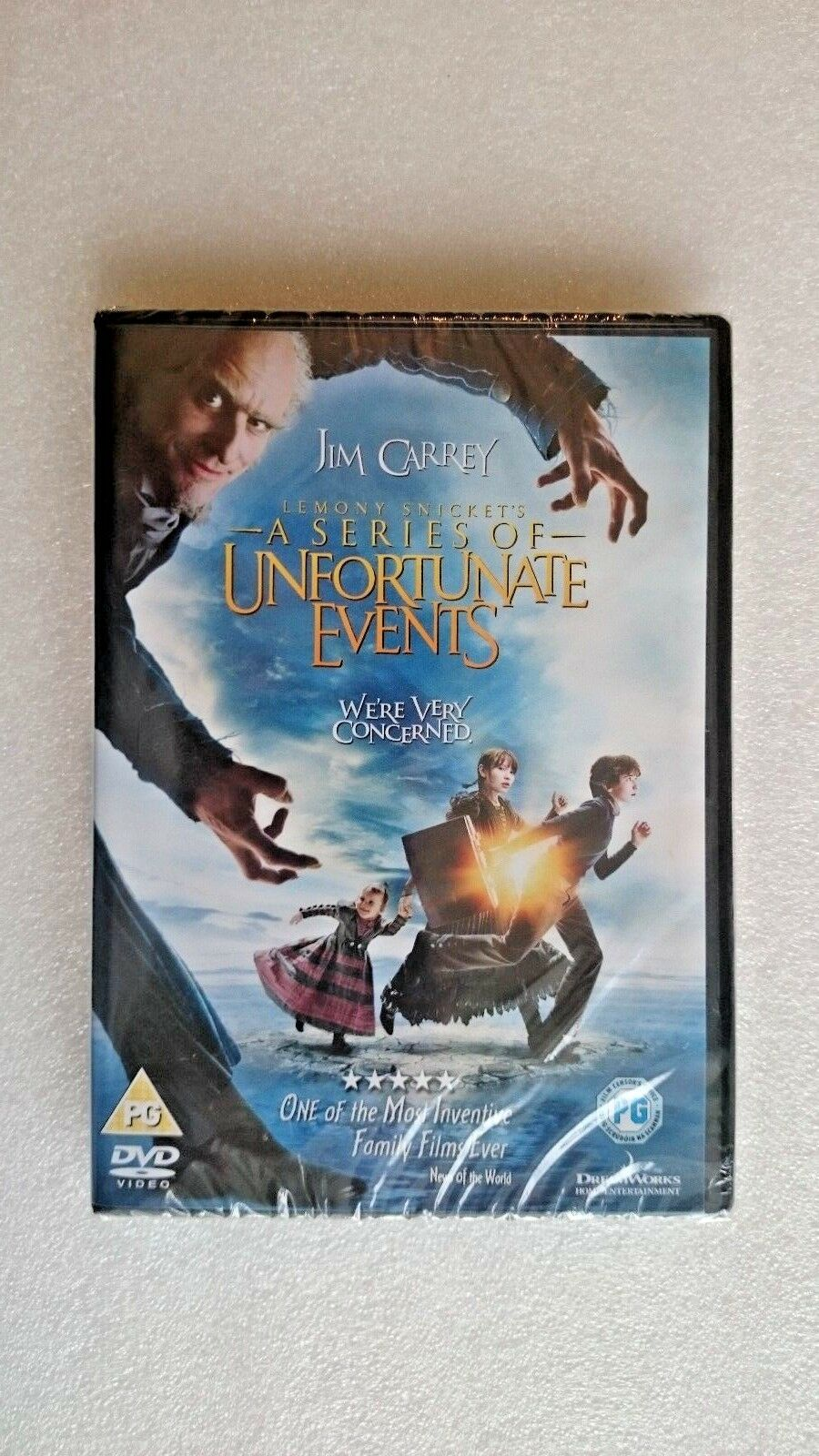 Lemony Snicket's A Series Of Unfortunate Events (DVD, 2016) NEW and SEALED