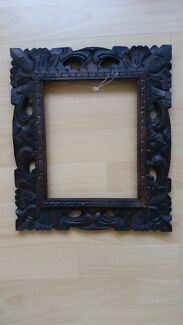 Balinese wooden picture frame  Mosman Mosman Area Preview