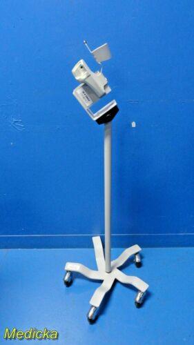 Welch Allyn Sure Temp Thermometer 5-Wheel Based Rolling Stand ~ 20822