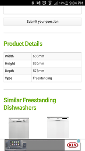 Dishlex dishwasher Port Macquarie Port Macquarie City Preview