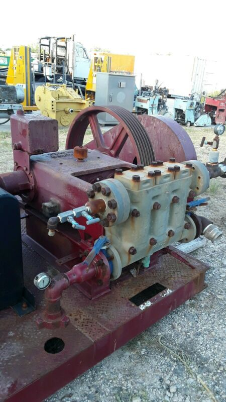 Gardner Denver TA3 Triplex Pump Saltwater Injection Pump