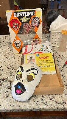 VINTAGE BEN COOPER COSTUME WITH VENTILATED MASK #138 GHOST BRAND NEW