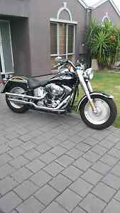 Harley Davidson 2003 Fatboy 100 year Anniversary edition Park Holme Marion Area Preview