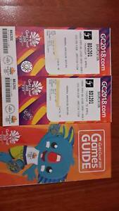 Commonwealth games 2 x Cat A Badminton tickets Thurs 12th April Red Hill Brisbane North West Preview