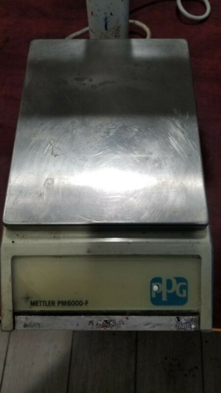 VINTAGE METTLER PM6000-F  SCALE.