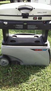 Coleman grill and cooler