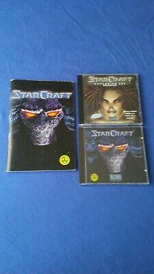 Starcraft + Expansion set PC CD ROM IBM - Español - Blizzard, usado segunda mano  Segovia
